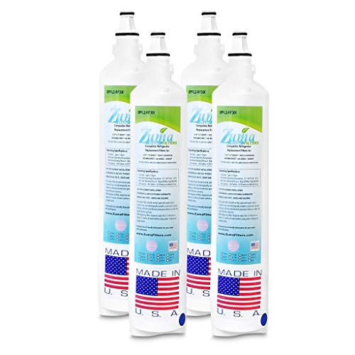 (4 Pack)LG 5231JA2006E Compatible Refrigerator Water and Ice Filter by Zuma Water Filters (OPFL2)