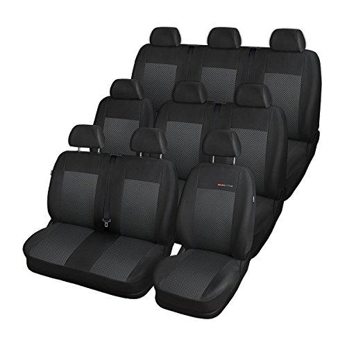 ELEGANCE (E3) (cucito su misura) - Set coprisedili auto (seconda fila - Sedile, terza fila - Sedile)