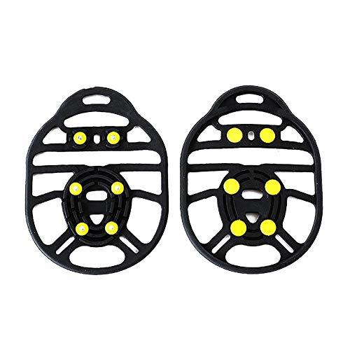 Lanceasy 1 par de Zapatos Cubierta Antideslizante Spikes