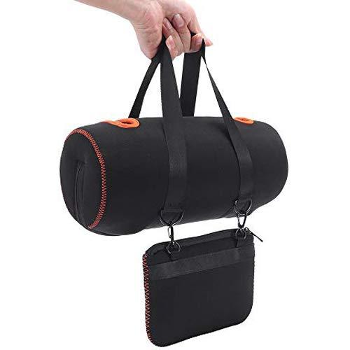 Honbobo Tasche für JBL Xtreme 2 Tragetasche Schutzhülle Hülle Zubehör für JBL Xtreme 2 Lautsprecher und Ladegerät