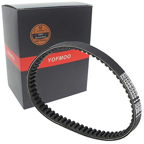YOFMOO Belts for land vehicle transmissions Compatible Manco 285 286 485 486 606 Go Kart Aerforce F211 Bandit 104B Critter 415 Dingo Eliminator 426 EZ Rider 906C Intruder GFX 607C 617C 4HP-5HP 6HP 7HP