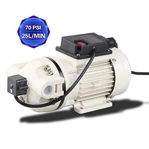 TDRFORCE Industrial Pump Water Diaphragm Pump Electric Self Priming Dispensing Pump 115VAC 25L/Min(6.8GPM) 70PSI for Irrigation Liquid Transfer