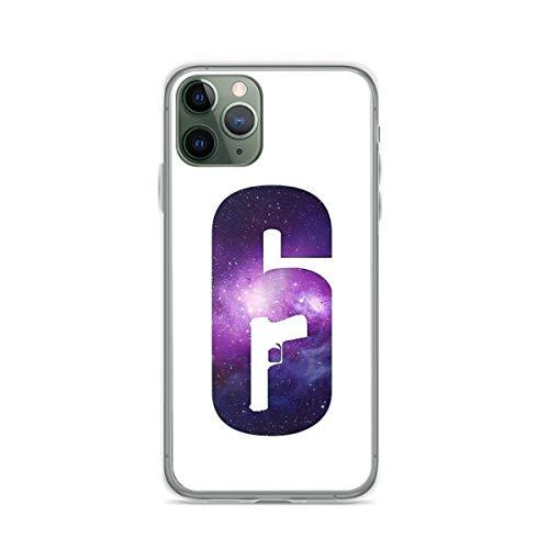 Phone Case Rainbow 6 Siege Logo - Galaxy Compatible with iPhone 6 6s 7 8 X Xs Xr 11 12 Pro Max Mini Se 2020 Waterproof Scratch Bumper