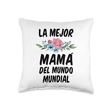 DesacaTee Company Regalos Para El Dia De La Madre Throw Pillow 16x16 Multicolor