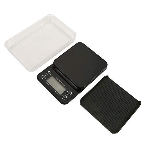 3 kg 0,1 g digitale weegschaal zeer nauwkeurig LCD elektronische druppelkoffie gram weegschaal keuken levensmiddelen kookweegschaal