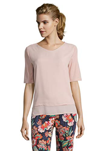 Betty Barclay Damen Fabi 1 T-Shirt, Rosa (Misty Light Rose 6055), (Herstellergröße: 40)