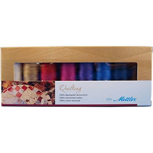 Amann Mettler Silk-Finish Cotton-Garn Nr.40 Quilting (8 Farben, 150 m)