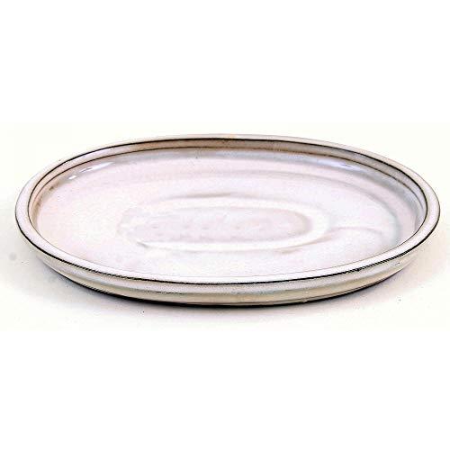 Bonsai - Untersetzer oval 21 x 17 cm, Creme 54330