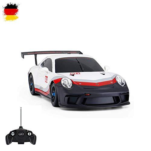 HSP Himoto Porsche 911 GT3 Cup - Veicolo radiocomandato radiocomandato, Design Originale, Scala 1:18, Ready-to-Drive, con Telecomando