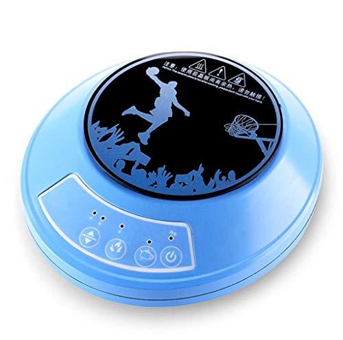 Mini Kleiner Induktionsherd, 1000W Herd, Studentenwohnheim Büro Familie Camping Tee heiße Milch Kaffee einziger Ofen, mit Topf (Farbe: blau) (Farbe: blau) (Farbe: blau) YCLIN (Color : Blue)