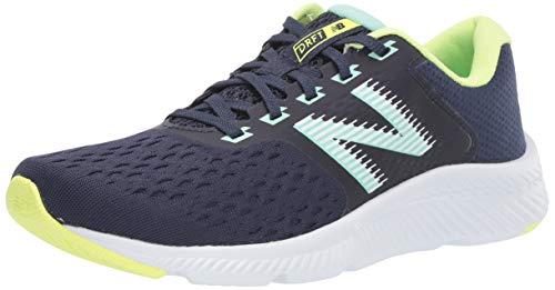 New Balance Women's DRFT V1 Running Shoe, Indigo, 6 W US