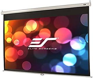 Elite Screens M84NWH 2,13 m (84 inch) 16:9 projectiescherm (handmatig, 2,13 m (84 inch), 185,4 cm, 104,1 cm, 16:9)