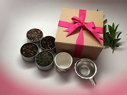 Christmas Gift Loose Tea Sampler Gift Wrap Best Seller By Music City Tea