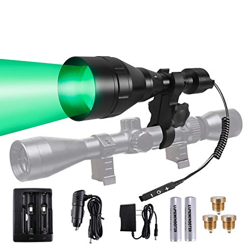 LUMENSHOOTER A9P Long Range Dimmable Hunting Light Kit
