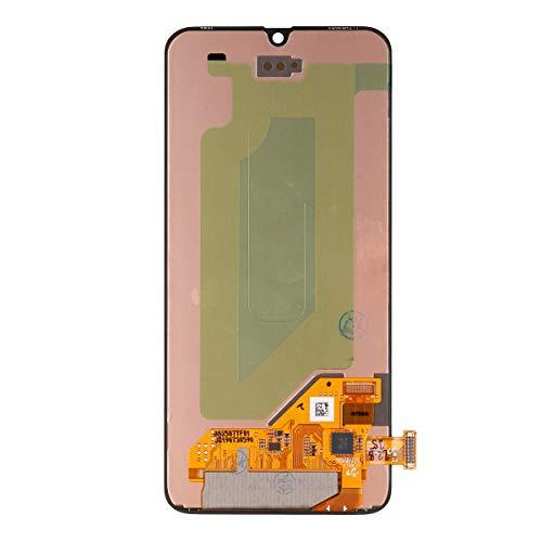 Vvsialeek Tapa trasera compatible con Samsung Galaxy S10+ S10 Plus SM-G975F SM-G975U SM-G975W azul tapa de batería