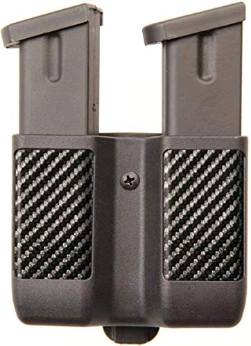 BLACKHAWK! 410610CBK Magazine Case 9mm,0.40cal Double Black