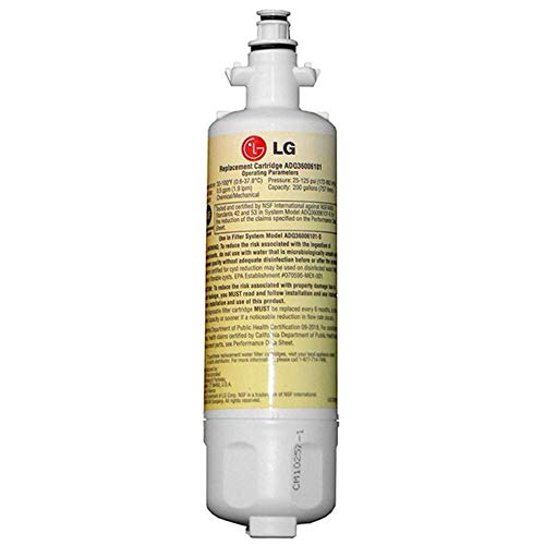 LG - ADQ36006101 - Filtre à Eau pour Réfrigérateur LT700P