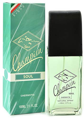 Champion Soul - Agua de colonia para hombres - 100 ml - vapo