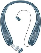 Bluenin Bluetooth Headphones,BlueWings Pro 1 Bluetooth 5.0 Neckband Wireless Headphones Noise Cancelling Headset,Retractable Earbuds Stereo Earphones. (Navy Blue)