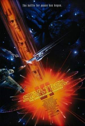 Star Trek : The Undiscovered Country – Film Poster Plakat Drucken Bild - 30.4 x 43.2cm Größe Grösse Filmplakat