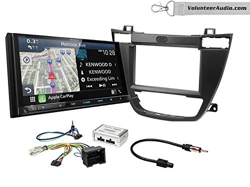 Sale!! Kenwood Excelon DNX996XR Double Din Radio Install Kit With Apple CarPlay, Android Auto, Siriu...