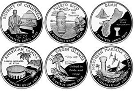 2009 P Distric of Columbia Quarter DC /& US Territory State~ UNC Uncirculated 2nd