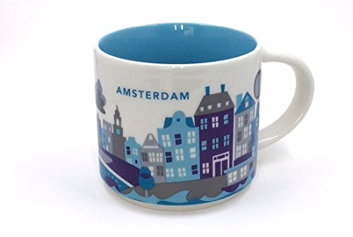 Starbucks Amsterdam Mug YAH You are here Collection - 14 fl oz / 414 ml