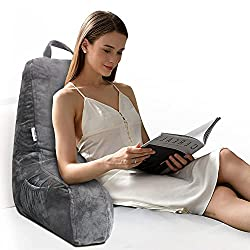 Mittagong shredded foam backrest reading pillow with ams review