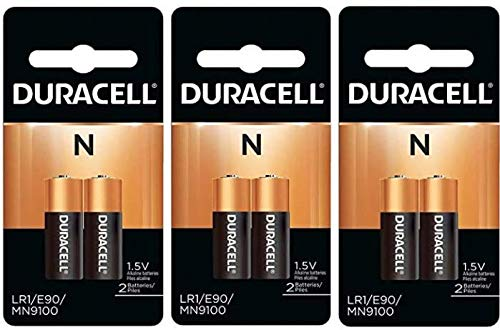Duracell MN9100B2 x 3