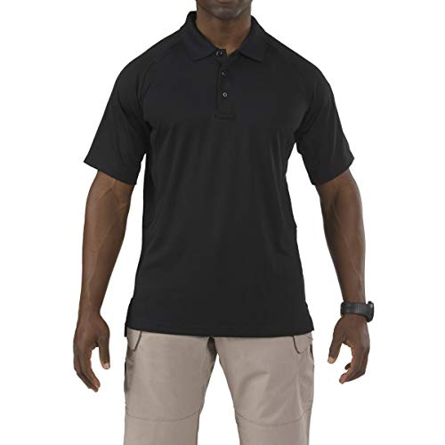5.11 Tactical Series Performance Polo Homme, L.E. Green, FR (Taille Fabricant : 2XL)