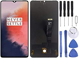 SHUHAN LCD Screen Phone Repair Part AMOLED Material LCD Screen and Digitizer Full Assembly for OnePlus 7T Mobile Phone Acc...