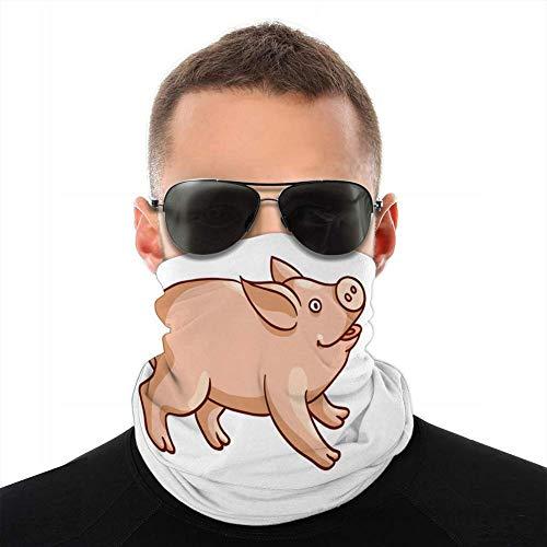shenguang Unisex Fleece Neck Cover Gamaschen Haarband niedlichen Baby Schwein...