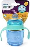 Philips Avent SCF551/05 - Vaso con boquilla de silicona para niño, válvula...