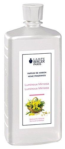 Lampe Berger Lumineux Mimosa Parfum, Plastique, Transparent, 7,5 x 6 x 19 cm, 1 unités