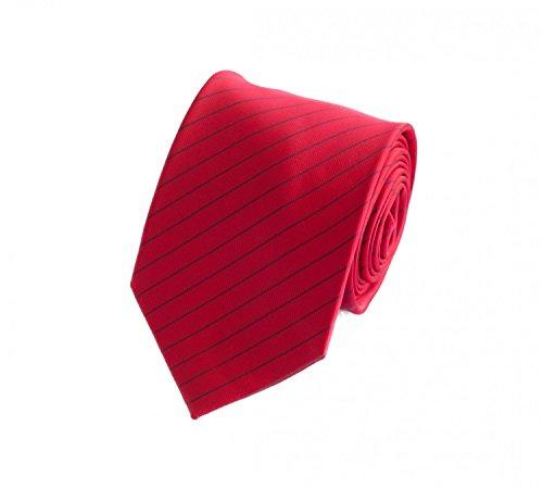Fabio Farini Cravate de en rouge noir