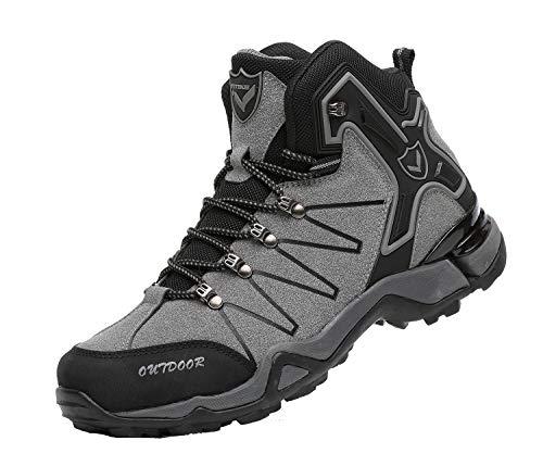 Men's Mid Trekking Hiking Boots Outdoor Lightweight Hiker