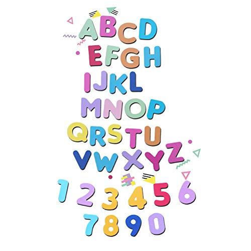 Crafting Dies - Lote de 2 Troqueles metálicos con números y Letras del Alfabeto (tamaño Grande)