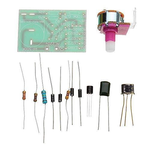 CLJ-LJ 10pcs LED Display Module Kit DIY BT33 Table Lamp Dimmable Optical Circuit Kit DIY kit