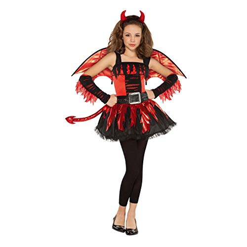 Christy's Disfraz de diabla para adolescente (12-14 aos)