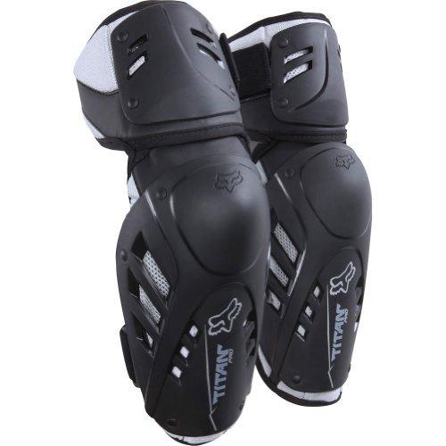 Fox Racing Titan Pro Adult Elbow Guard MotoX Motorcycle Body Armor - Black / Large/X-Large