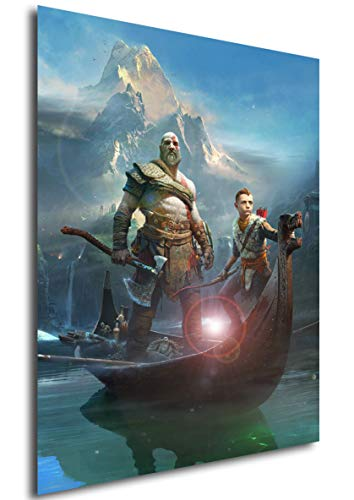 Instabuy Posters God of War (E) Kratos - A3 (42x30 cm)