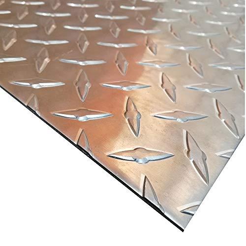 Aluminium Tr/änenblech 1000x1000mm DIAMAT 1,5//2,0mm stark gro/ße Auswahl Tr/änenblech Warzenblech