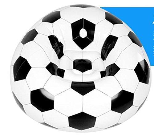 sofa&shengshiyujia SIZLL Canapé/Fauteuil Gonflable en Plastique/Football.