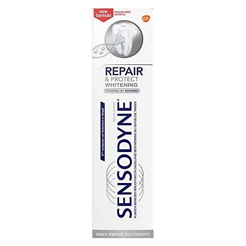 SENSODYNE 6 x Zahnpasta Repair & Protect Whitening - 75 ml