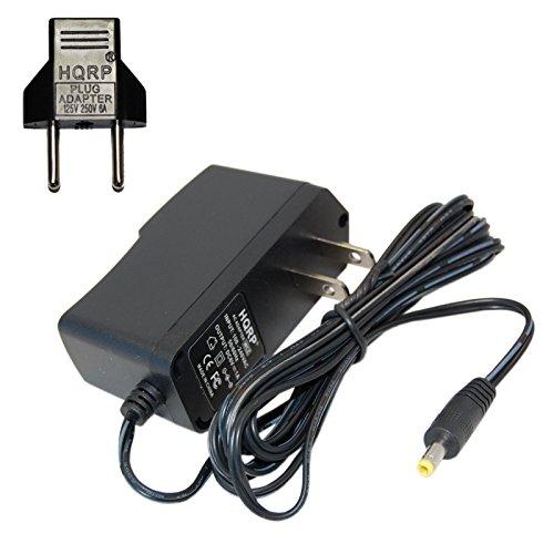 HQRP Adaptateur CA pour Omron M500, M700, M300, M400, M2, M3, M3W / HEM-7202-E(V), M6 Comfort / HEM-7223-E, M6W / HEM-7213-E, M10-IT / HEM-7080IT-E Contrôle de la tension artérielle