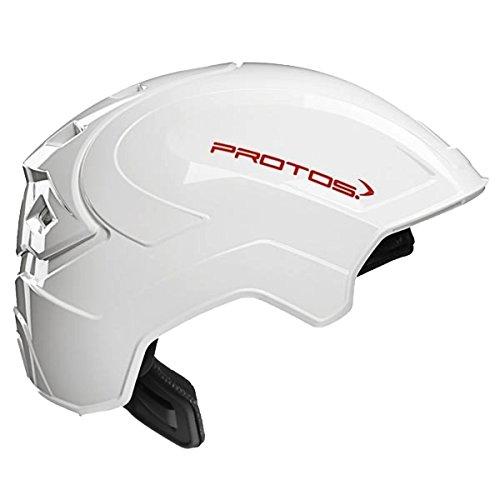 Protos 202000-10-73 Helm Industry in weiß/grau, M