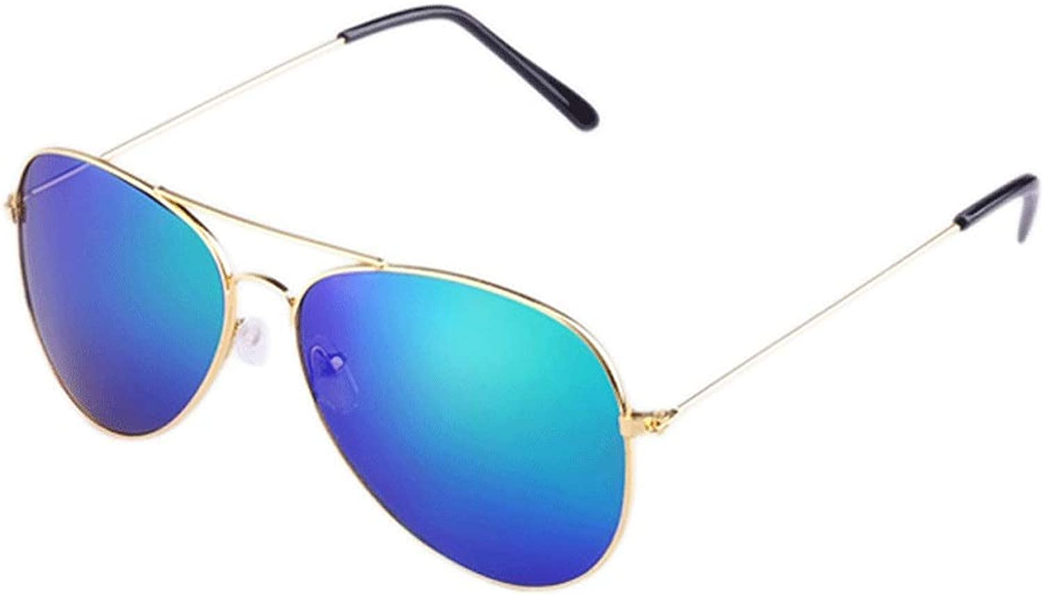 Sunglasses for Women Men Polarized Metal Frame Ultra Light UV 400 Lens Predection Fishing Driving Traveling&Daily Wear(Colour bluee) (color   bluee, Size   Free Size)