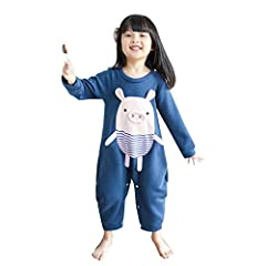 ♥ Material: 95% cotton + 5% spandex gold ratio, skin-friendly cotton, not easy to fade, soft and comfortable, warm thick cotton, 350G thick thick velvet cotton. ♥ Easy belly protection: Sleep and roll without leaving your belly open for a good night'...