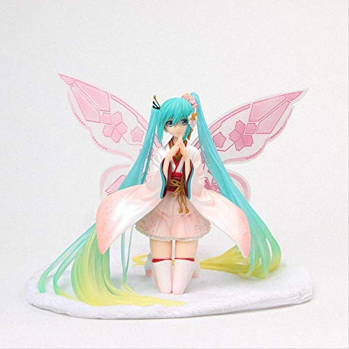 Anime Hatsune Miku Hatsune Miku Tony Schmetterling Schöne Statue Figur Modell Spielzeug 17Cm