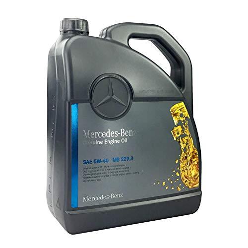 Mercedes-Benz 5W-40 MB 229.3 - Set de aceite de motor original 5 litros